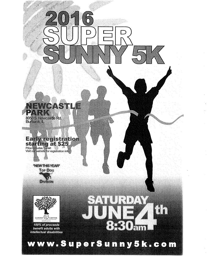 2016 Super Sunny 5K