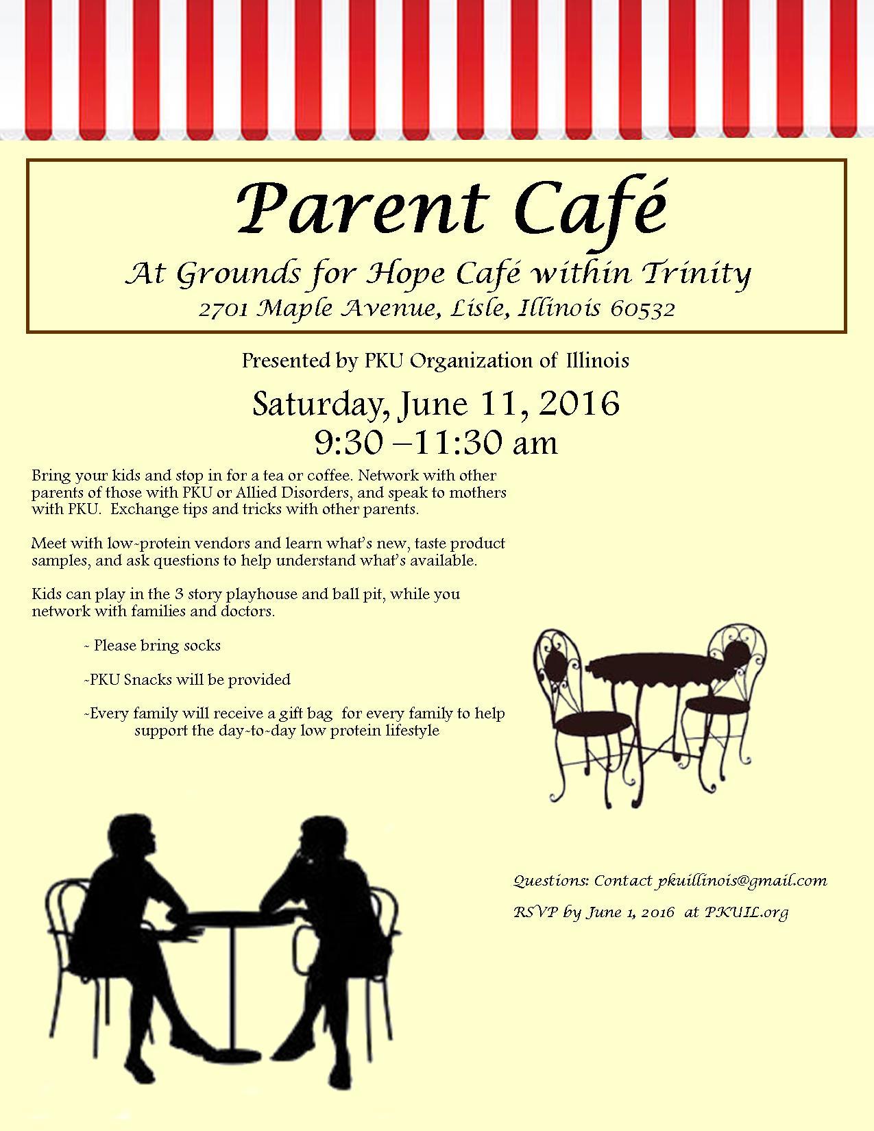 Parent Cafe 2016